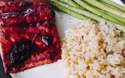 Blueberry Glazed Salmon