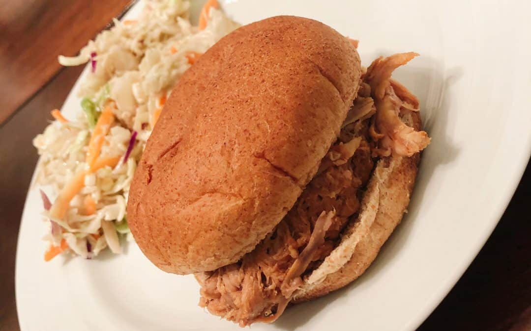 3-Ingredient Pulled Pork Sandwiches