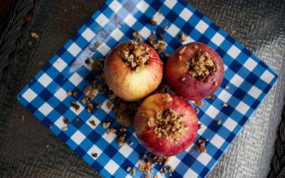 Baked Cinnamon Stuffed Apples