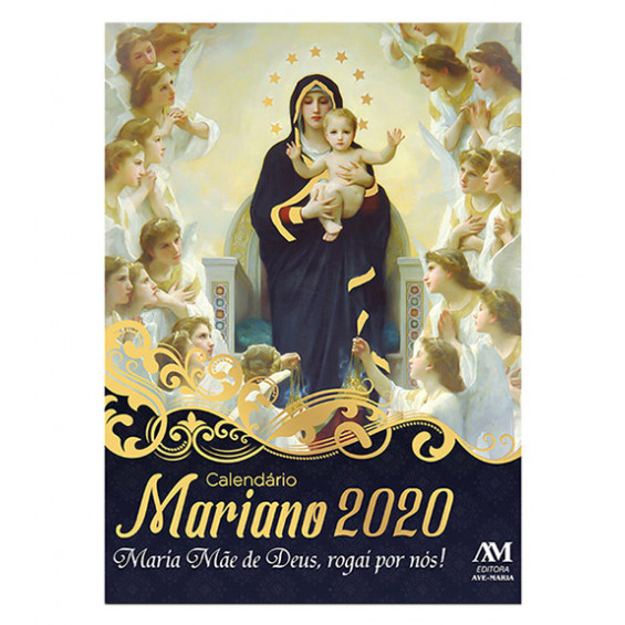 Calendario Mariano.Calendario Mariano 2020 Calendarios Sazonais Outros