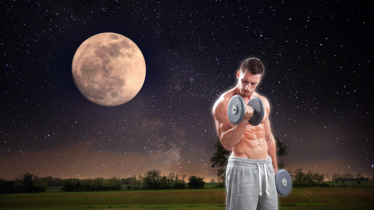benefits of working out at night