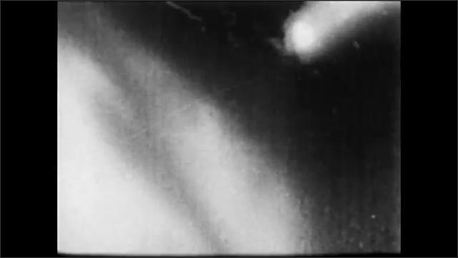 1960s: Plane crashes.  Explosion.