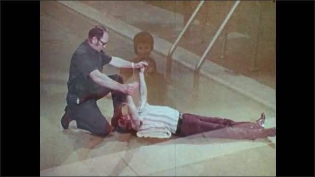 1960s: UNITED STATES: demonstration of Silvester