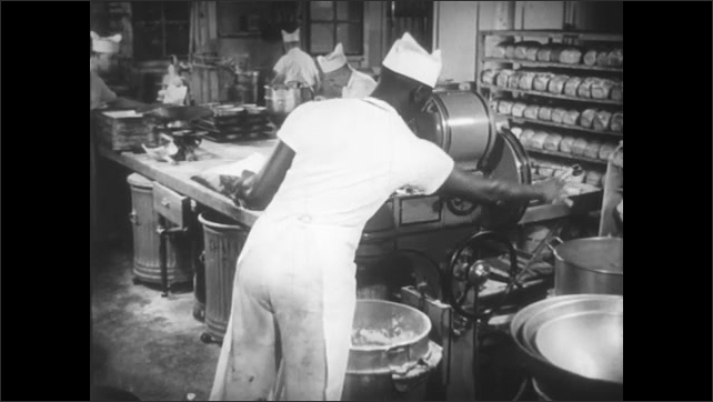 Skilled bakers in a small doing mostly manual  labor as opposed to a manufacturing setting.