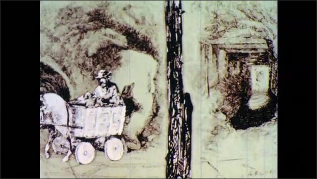 1960s: Images and animation of mining.