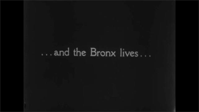 1930s: Intertitle. Views of buildings.