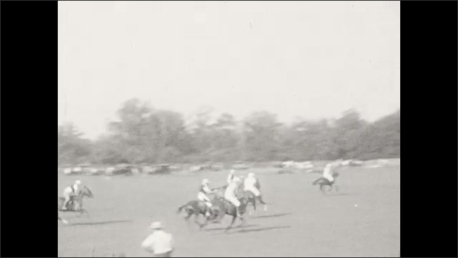 1930s: People play polo.