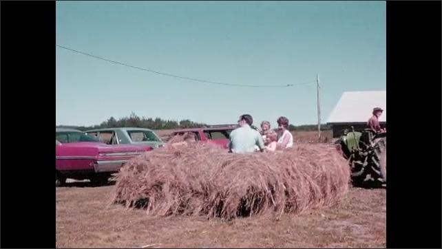 1970s: People go on hayride.