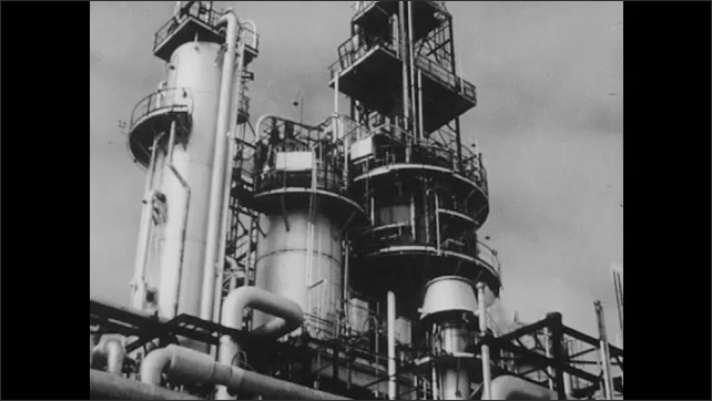 1950s: Oil refineries and chemical plants In Alberta, Saskatchewan and Manitoba. Canada Cement plant.