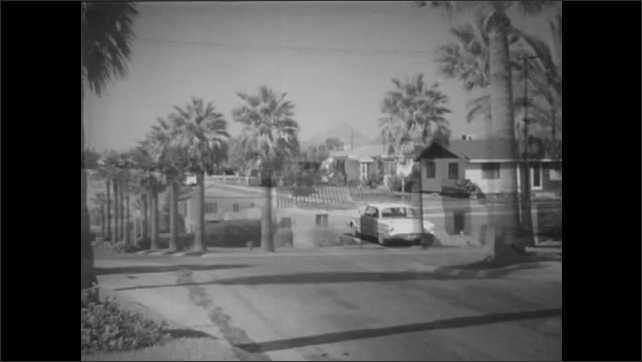 1960s: Cars yields to through traffic on busy neighborhood intersections.