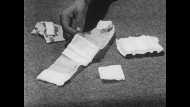 1950s: Band-Aids and other types of bandages.