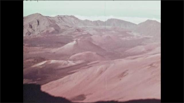 1960s: Rocks.  Plants.  Mountains.