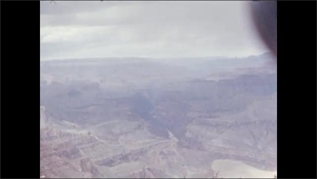 Panoramic views of Grand Canyon.