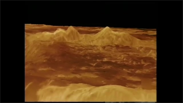 1990s: Topographical images of surface of Venus.