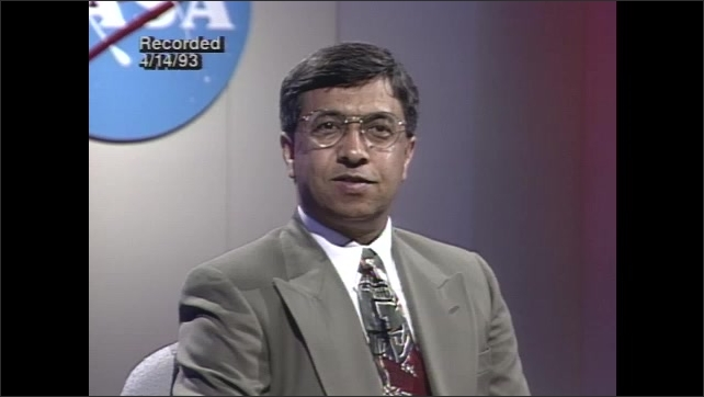 1990s: Scientist discusses destruction of the ozone on talk show.