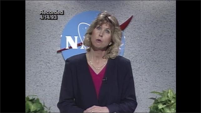 1990s: Leslie Bridgett prepares high school students for lab.