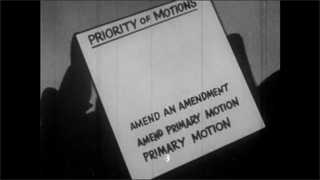 1950s: Primary motion falls to the bottom of the list Priority of Motions. Amend Primary Motion, Amend an Amendment, fall on top of Primary Motions.