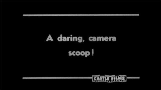 1940s: AFRICA: A daring, camera scoop!