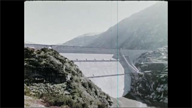 1970s: Mountains.  Dam.  Power plant.