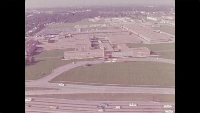 1960s: Buildings.  Road.