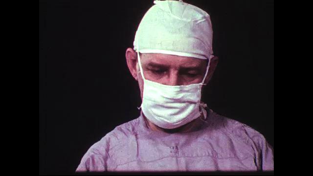 Doctors begin operating on a plane crash victim patient to preserve his life.