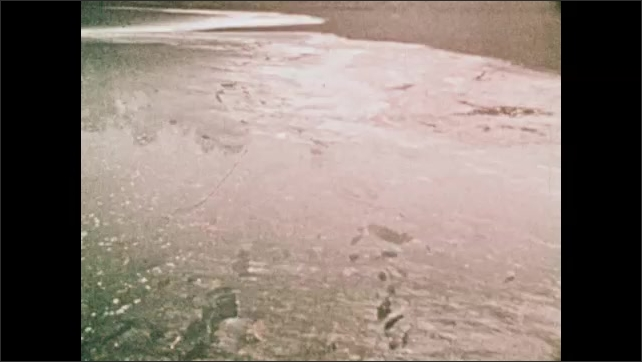 1970s: Polluted river.