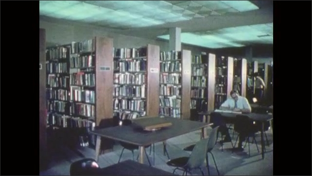 1970s: People in library