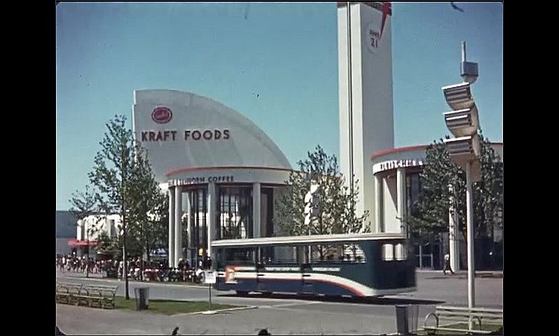 1930s: UNITED STATES: Toronto 57 building and dome art. Kraft Foods building.