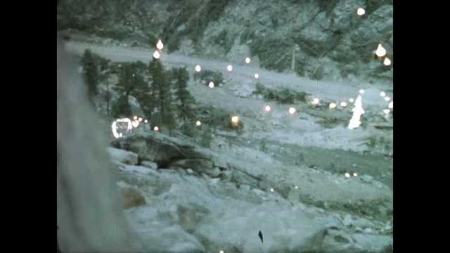 1960s: Mountain.  Stream.