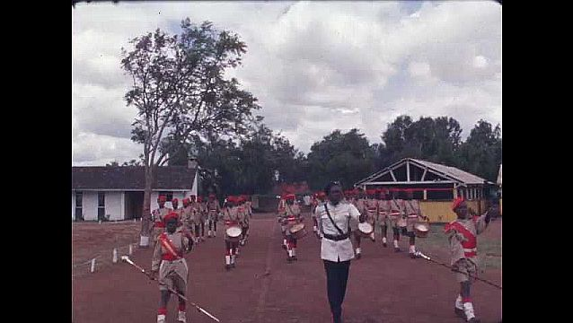 1970s: AFRICA: marching band at school.