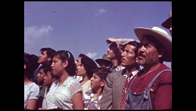 1960s: MEXICO: Group of Mexican people