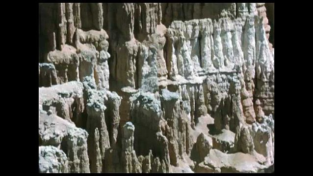 1950s: Canyon.  Rock formations.