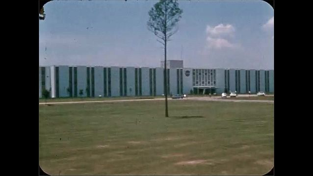 1960s: Office building.  Parking lot.  Road.