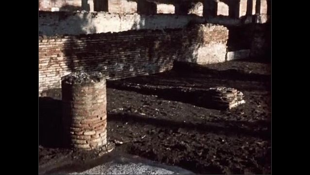 1950s: Ancient ruins.