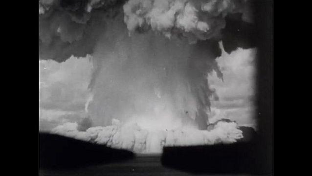 1940s: Atomic bomb explodes on Bikini Atoll.