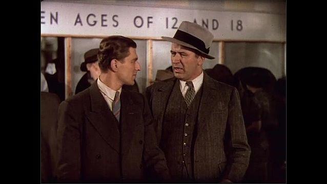 1930s: Men speak.