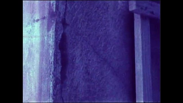 1960s: Large crack in wall.