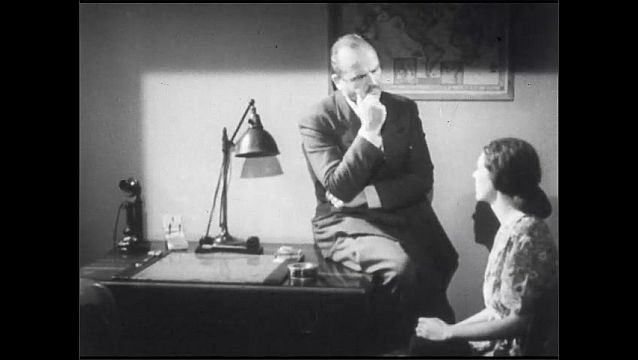 1950s: UNITED STATES: doctor takes swab from child. Diphtheria precautions. Doctor speaks with parents of child. Doctor takes history.
