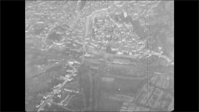 1910s France: City.  Buildings.