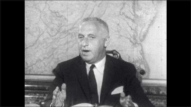 1960s: Railroad president speaks.