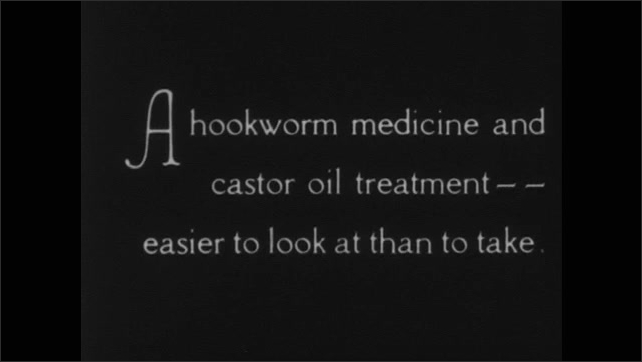1930s: UNITED STATES: each coolie is given a blood test each year. Examination of plantation workers.  Workers attend clinic. Hookworm medicine administration. Lady takes medicine.