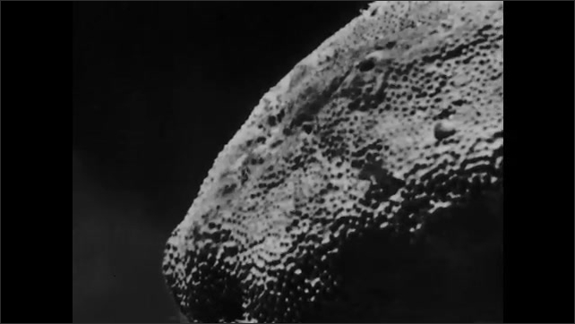 1960s: Variety of sponge formations with a variety of hole structures.