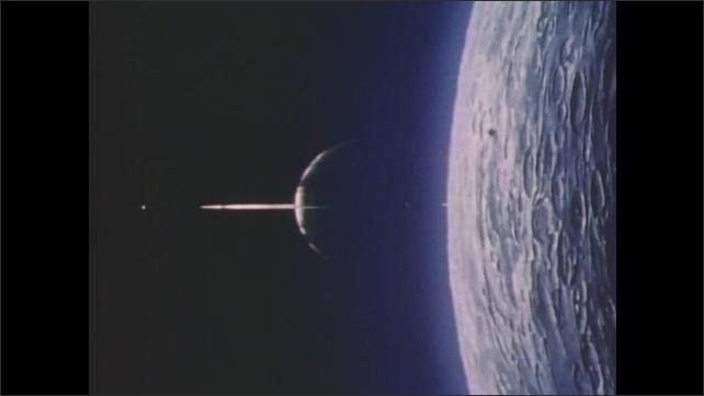 1970s: Views of Jupiter and Saturn.