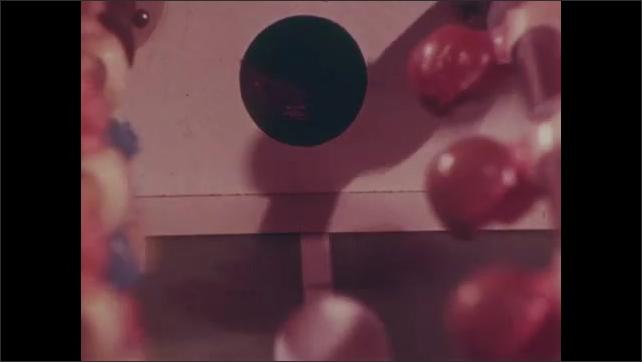 1980s: People play foosball.