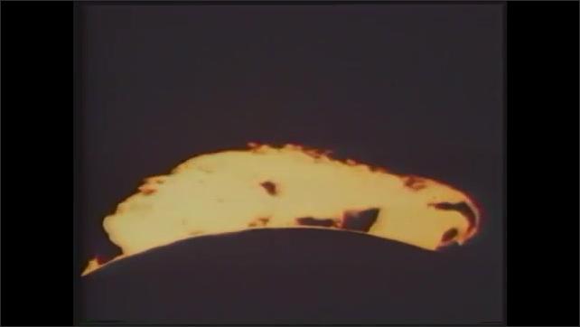 1980s: Surface of sun.