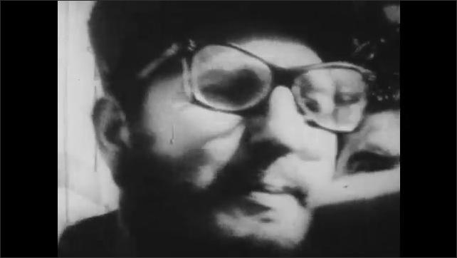 1960s: UNITED STATES: Fidel Castro and revolution in Cuba.