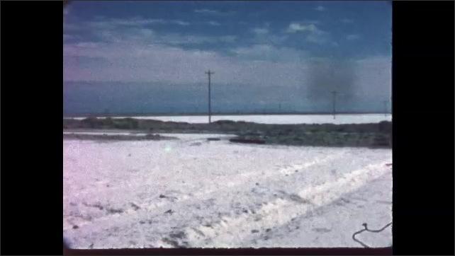 1970s: Bonneville Salt Flats in Utah.