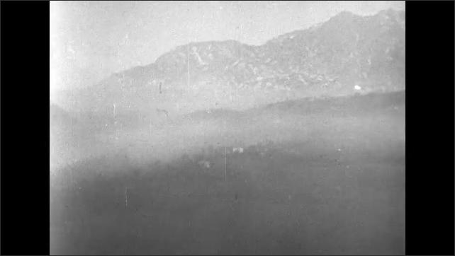 ITALY 1943: Sky During Intense Artillery Fire, Battle of San Pietro