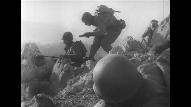 ITALY 1943: Successful Attack of Hill 1205, San Pietro, Italy