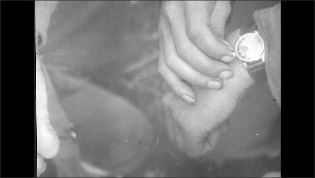 ITALY 1943: Soldiers Synchronize their Watches on D-Day